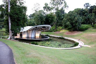 Озеро Симфонии (Symphony Lake) Сингапур