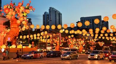 Празднование Китайского Нового Года 2017