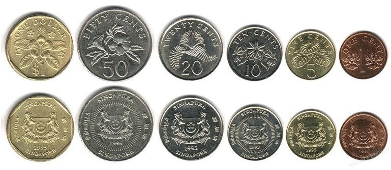 Монеты в Сингапуре