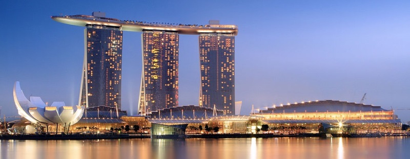 отель Marina-Bay-Sands