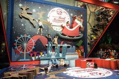 Рождественская Волшебная Страна в Gardens by the Bay Сингапур