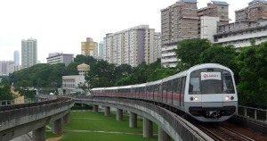 Проездные карты на метро и автобус в Сингапуре