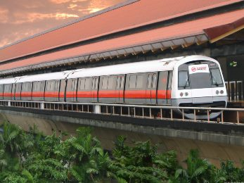 Метро в Сингапуре MRT