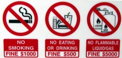 Реальные штрафы и «странные законы» в Сингапуре