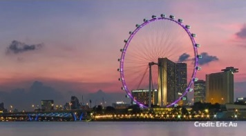 Бесплатная экскурсия по Сингапуру. City Sights Tour-The Singapore Flyer