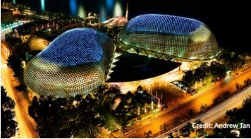 Бесплатная экскурсия по Сингапуру. City Sights Tour-The Esplanade