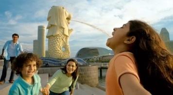 Бесплатная экскурсия по Сингапуру. Heritage Tour-The Merlion Park