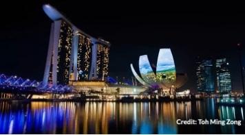 Бесплатная экскурсия по Сингапуру. City Sights Tour-Marina Bay Sands
