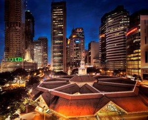 Сингапурский Рынок Лау Па Сат (Lau Pa Sat Market)
