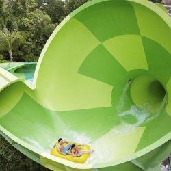 Аквапарк «Бухта приключений» (Adventure Cove Waterpark), Сингапур, остров Сентоза