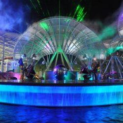 Музыкальный фонтан Lake Of Dreams, о.Сентоза, Сингапур
