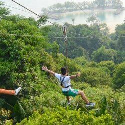 Верёвочный парк Megazip Adventure Park, Сингапур