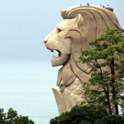 Смотровая башня Сентоза Мерлион (Sentosa Merlion)