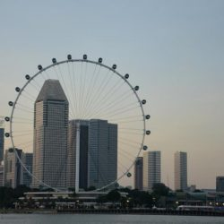 Сингапурское колесо обозрения Singapore Flyer