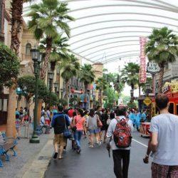 Universal Studios Singapore - «Голливуд» (Hollywood)