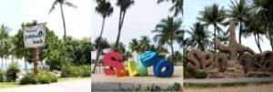Сингапурские пляжи на острове Сентоза