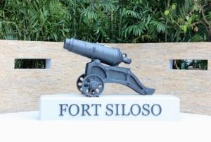 Форт Силосо на острове Сентоза, Сингапур