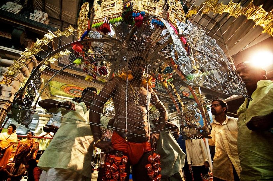 Тайпусам — индуистский фестиваль в Сингапуре