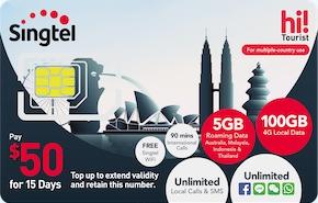 Мобильная связь, СИМ-карты, WiFi и Интернет в Сингапуре для туристов 4