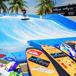 Серфинг на Сентозе (Wave House Sentosa, Сингапур)
