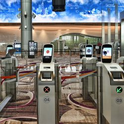 Паспортный контроль при выезде из Сингапура