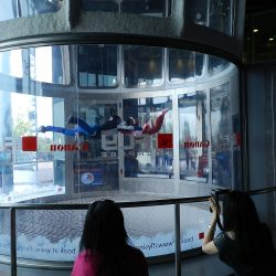 аттракцион iFly в Сингапуре