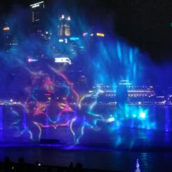 Водно-лазерное шоу Spectra